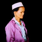 Borneo - Dayak Woman - 4d