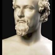 376.HLJ2  marble bust