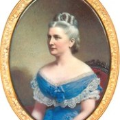 384. HLJ2 Cameo of Harriet Lane Johnston