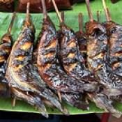 Thailand - Bangkok - Market - Grilled Wels - 77