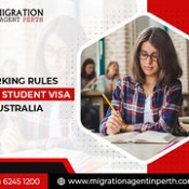 WHAT ARE THE WORKING RULES FOR STUDENT VISA 500 AUSTRALIA?