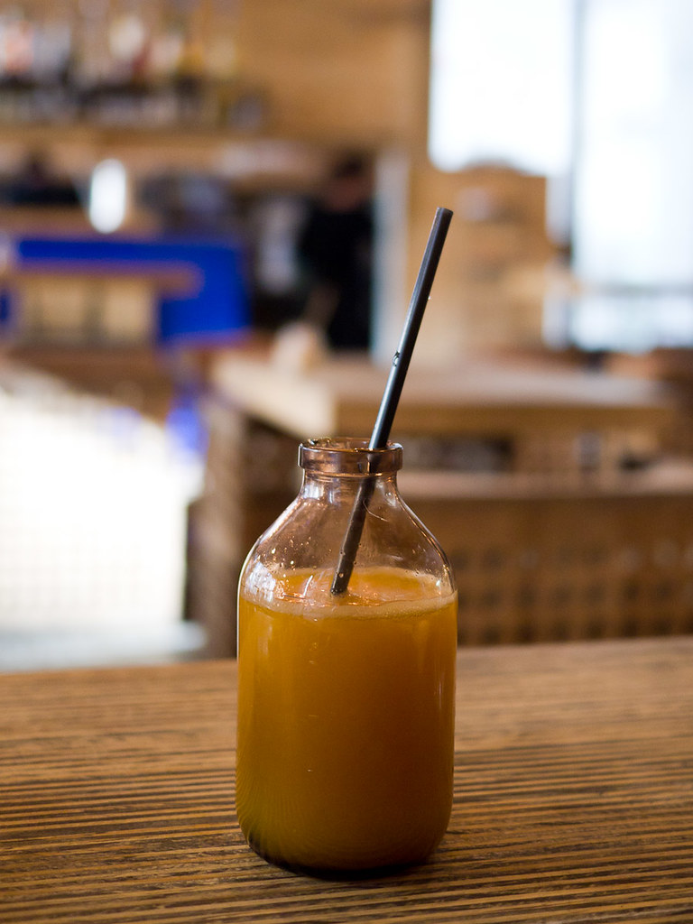 Freshly pressed orange juice