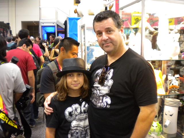 Mark Dean Veca and his Son