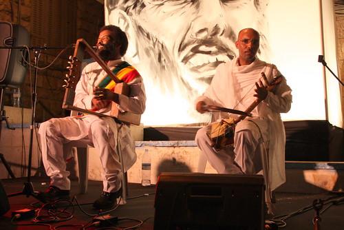 Edgo and Salomon (Ethiopian musicians)