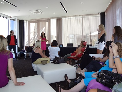 Mombloggers Learning About Sony Products