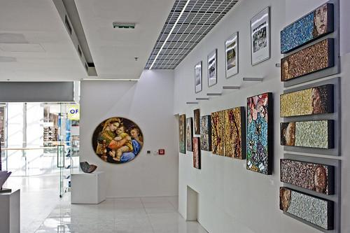 Mosaics in Expositon at Eurovea