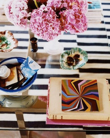 Melanie Acevedo photog coffee table vignette