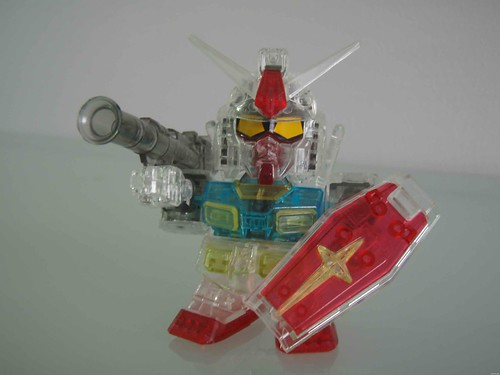 BB1999 RX-78-2 # Event Limited # Set 1 of 7 {Clear - Multi Color} (2)