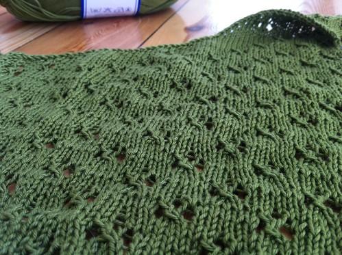 lucky clover lace wrap