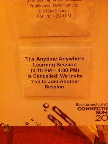 irony at BBworld by bionicteaching, on Flickr