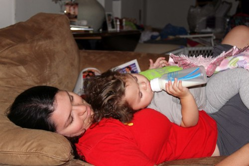 Tia Leah, Annie, and the ^%$*#! Bottle.