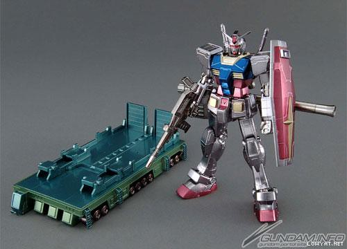 HG RX-78-2 + TrailerTruck # Full Color Coating (2)
