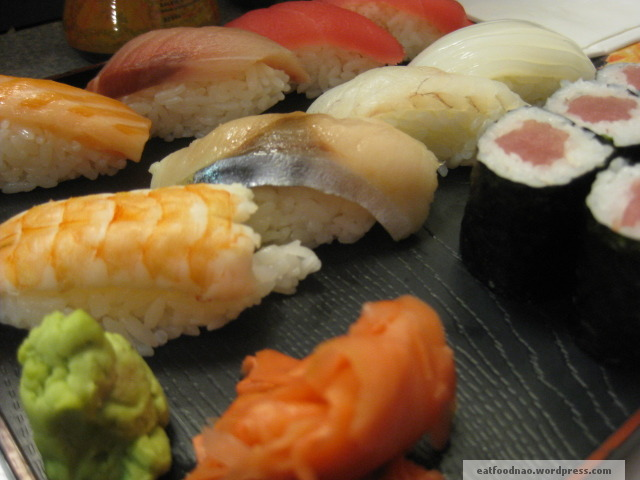 Sushi Set close up