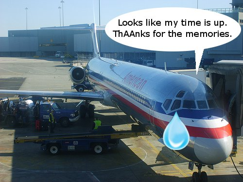 The MD-80 is Almost Done at American