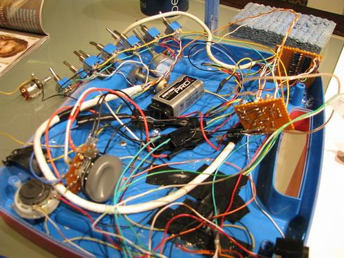 Circuit Bending a DIY Drum Machine