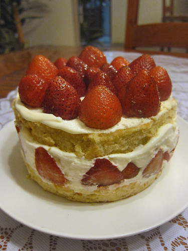 strawberry fraiser cake