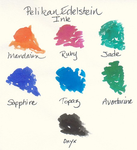 Pelikan Edelstein Ink Swatch