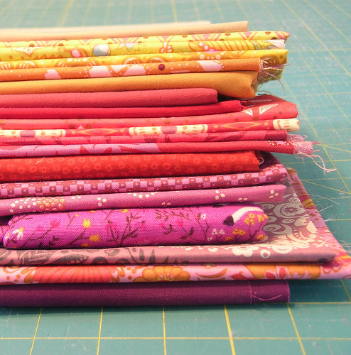 Color stack for Do Good Stitches Quilt
