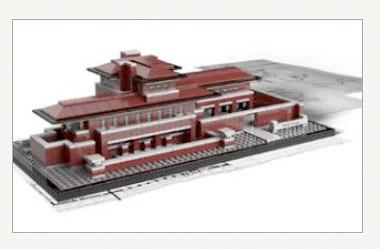 Frank Lloyd Wright's Robie House - LEGO Architecture