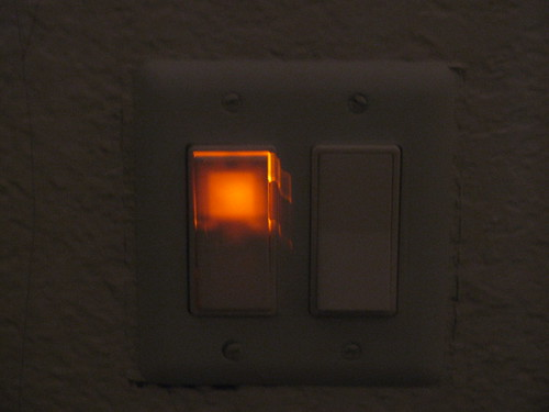Lighted switch by jaklumen & family