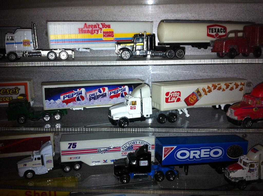 die cast trucks
