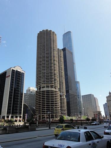 103/365 Marina City and Trump Tower