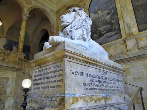 Memorial lion