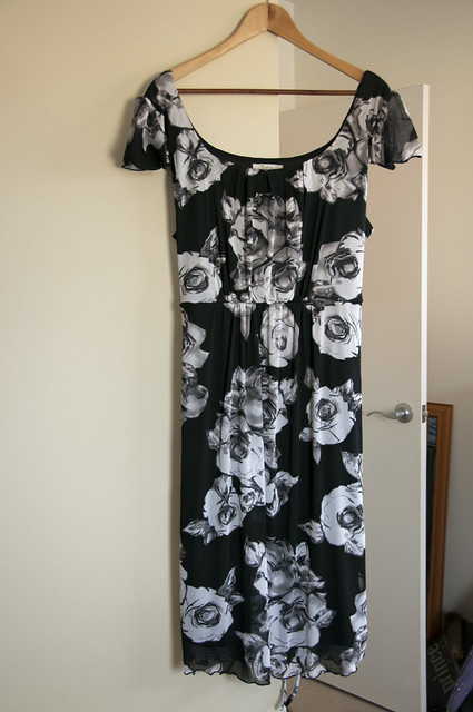 RosePrintDress