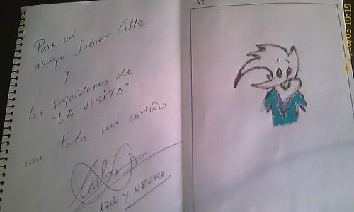 Carlos Vaso de Azul y Negro para LaVisita by LaVisitaComunicacion