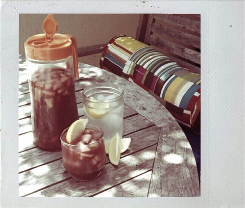sangria in the sun. by sageandpaperclip