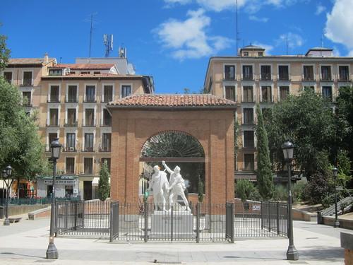 Plaza del Dos de Mayo. Malasaña