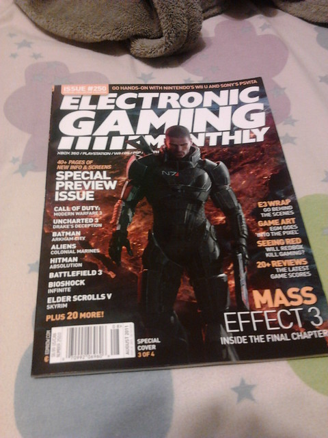 EGM Mass Effect 3 cover