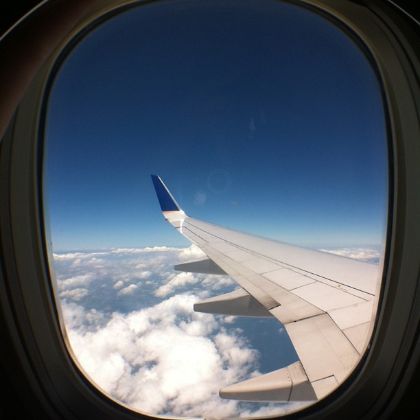 A very smooth flight