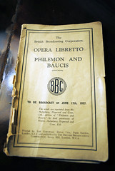 A BBC opera programme  from 1927