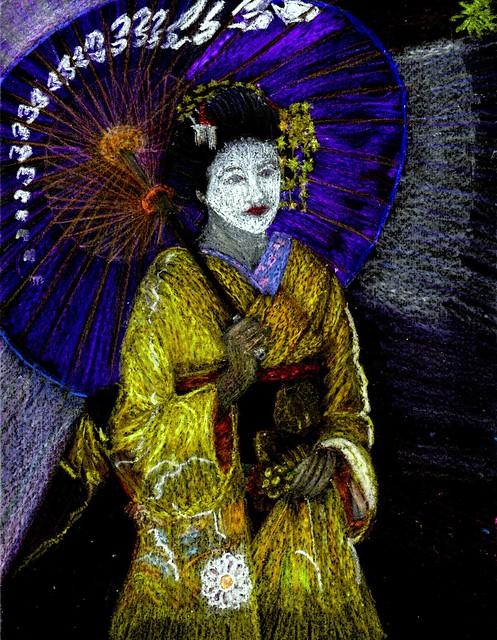 Parasol Geisha