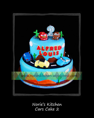 Norie's Kitchen - Cars Cake 2