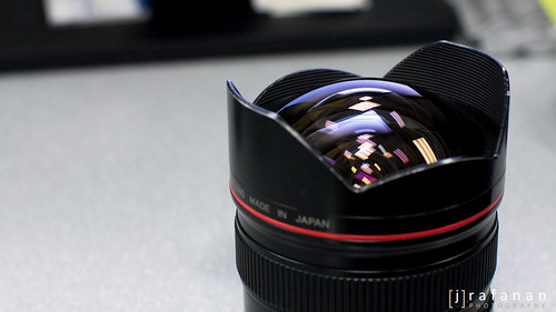 Canon EF 14mm f/2.8L, Front Glass