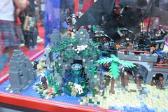 Pirates of the Caribbean Display Case - LEGO Booth at Comic Con - 12