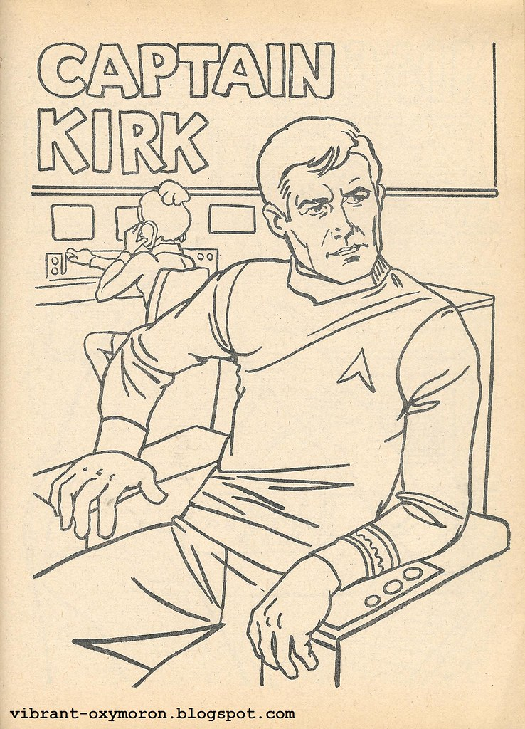 star trek color and activity books 1978