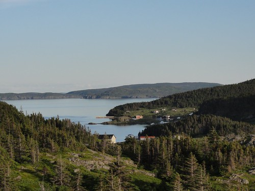 Upper Harbour from Nanny Hole Head