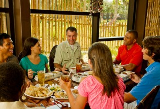 African-Inspired Lunch at Sanaa at Kidani Village at Disney's Animal Kingdom Lodge