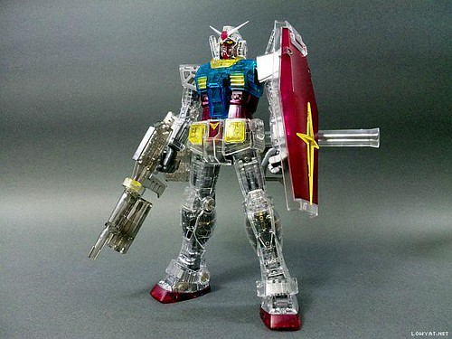 MG RX-78-2 gundam proshop mechanical clear (2)