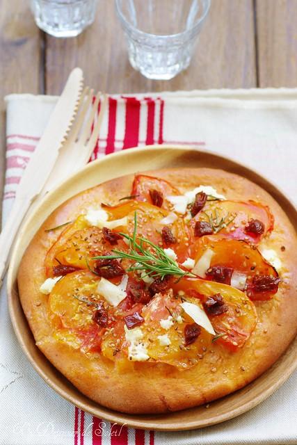 Pizza 100% pomodoro
