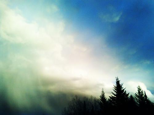 Dramatic Sky by Karyn Ellis