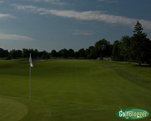 Inverness Hole 1 US Senior Open