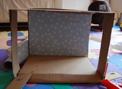 caja cortada