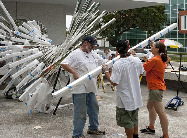 Alyson Shotz | New Public Art on the USF Campus | Photo by Will Lytch