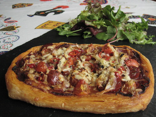 Puff-pastry Pizzette