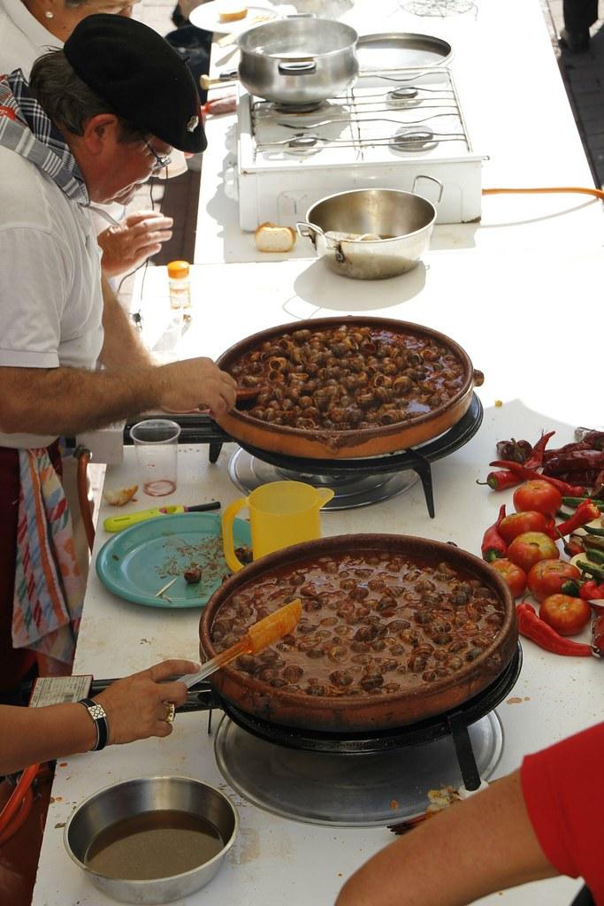 Caracoles en la Fiesta de Las Mercedes 2011
