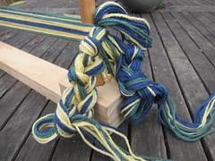 Chained warp threads